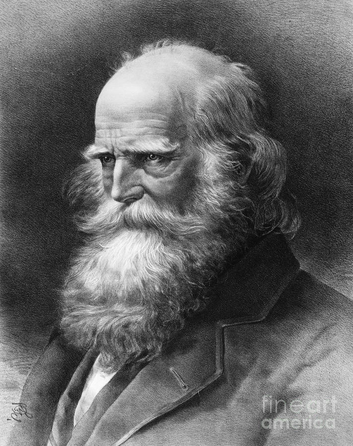 1884 Photograph - William Cullen Bryant by Granger