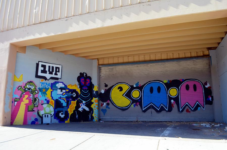 90 S Walls Google Search: 90's Style Graffiti Photograph By Paul Whitney