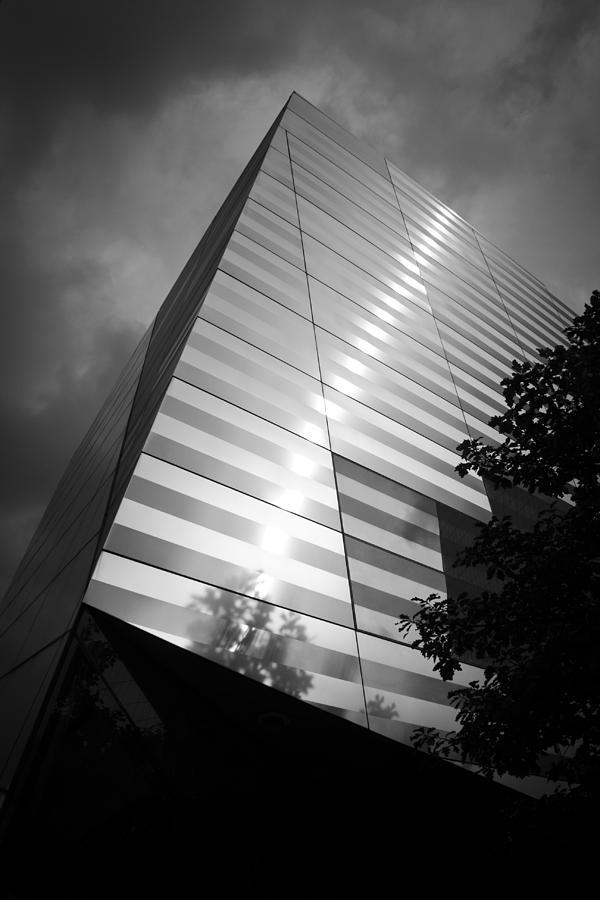 World Trade Center Photograph - 911 Memorial Museum Bw by Teresa Mucha