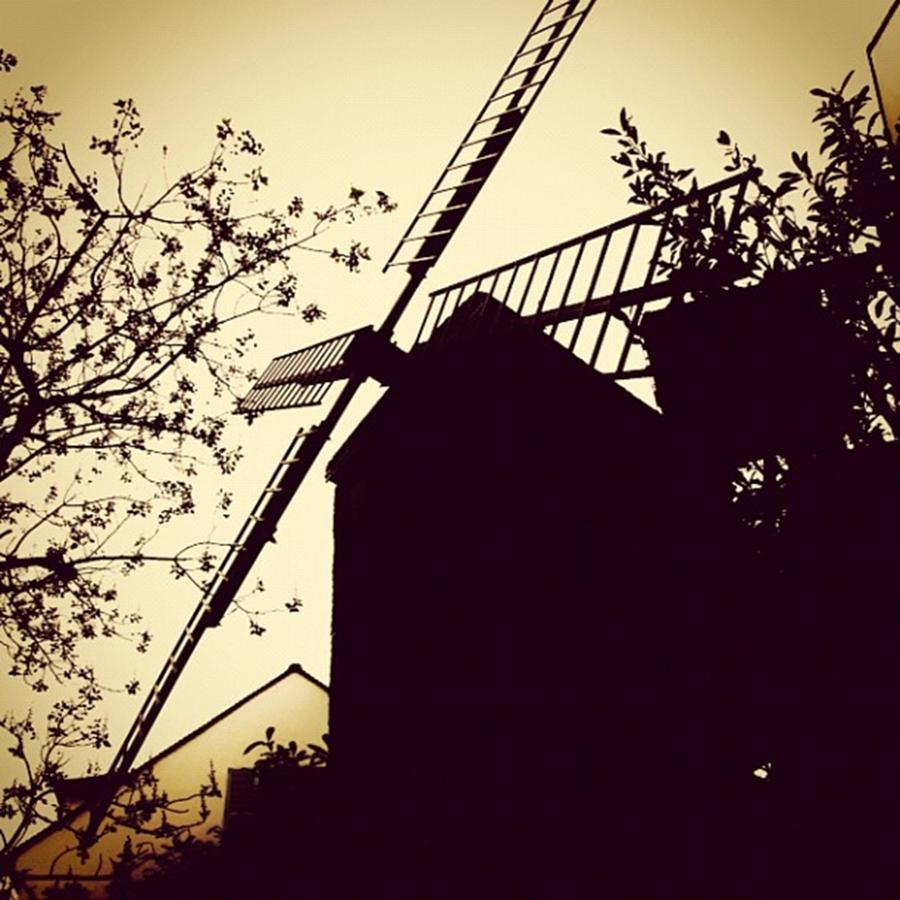 Windmill Photograph - Instagram Photo by Ritchie Garrod