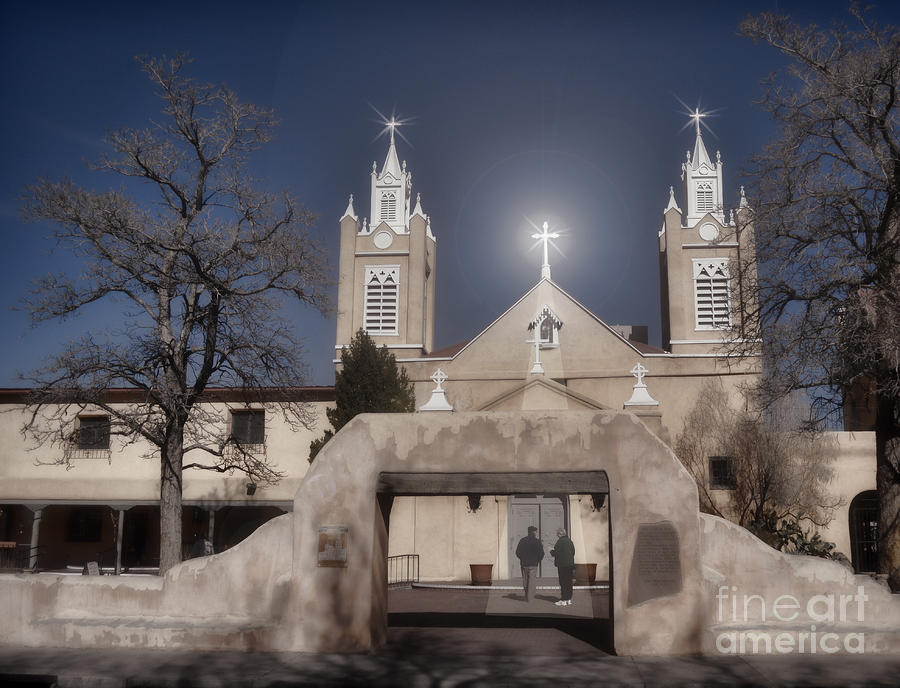 Church Photograph - A Blessed Couple by Donna Greene