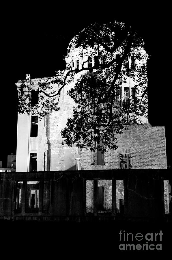 A-bomb Photograph - A-bomb Dome by Dean Harte