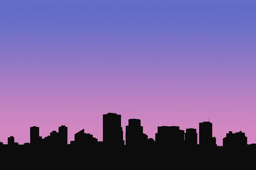 Outline Photograph - A Cityscape by Corey Hochachka