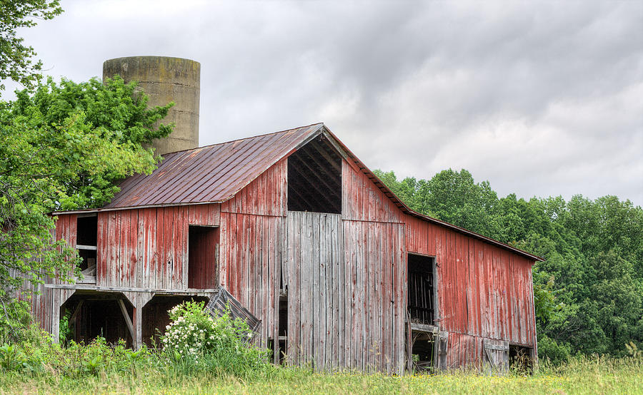 A Cloudy Day Photograph - A Cloudy Day by JC Findley