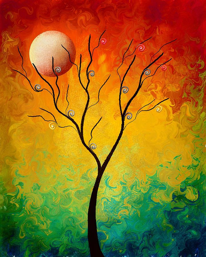 Landscape Painting - A Colorful Dream by Color Blast