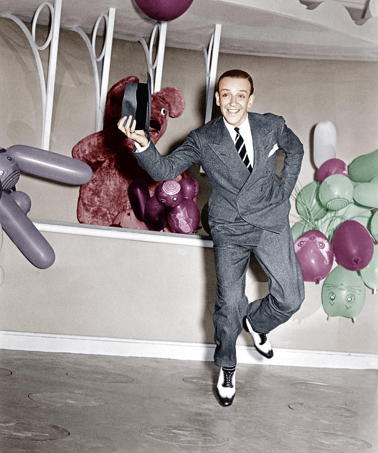 1930s Movies Photograph - A Damsel In Distress, Fred Astaire, 1937 by Everett