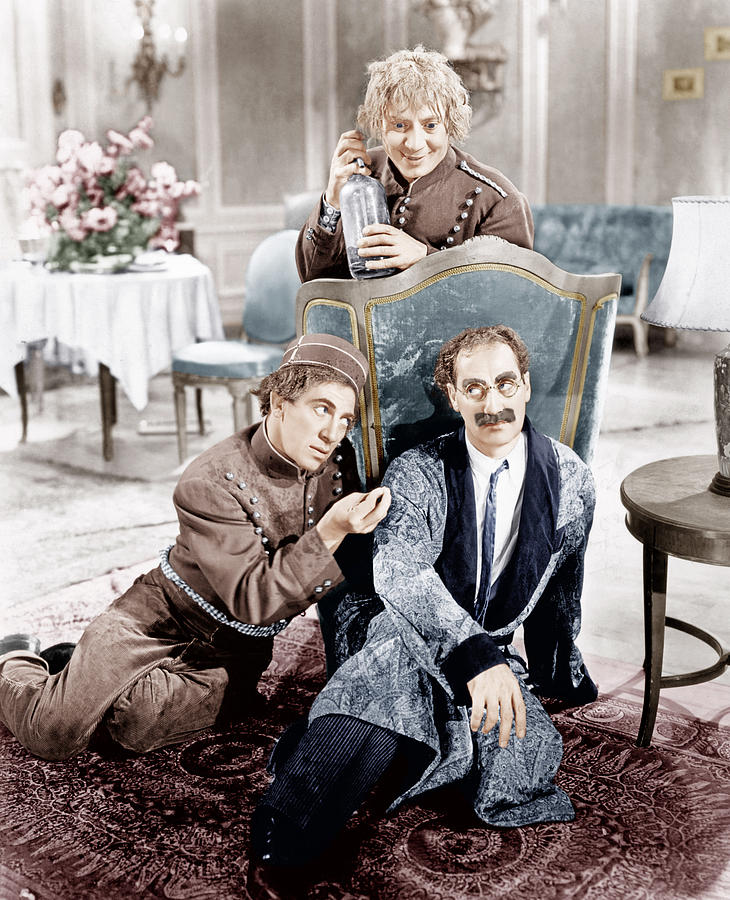 1930s Movies Photograph - A Day At The Races, From Left Clockwise by Everett