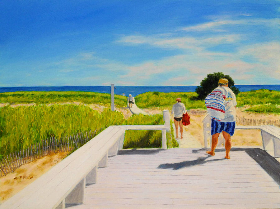 A Day For The Beach by William Frew