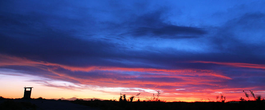 New Mexico Photograph - A Deeper Blue by JC Findley