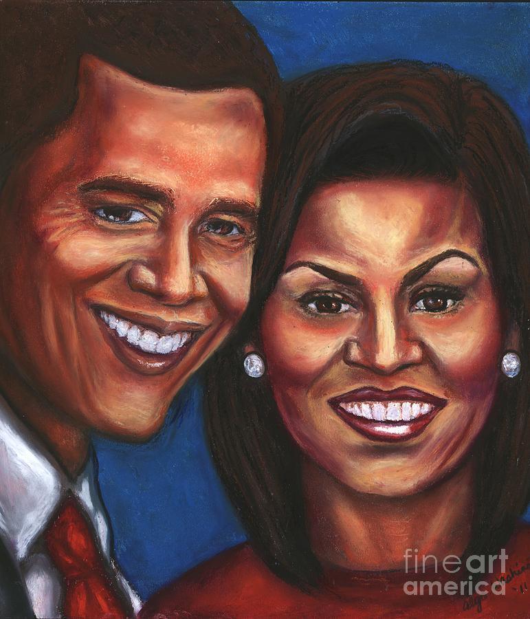 First Lady Mixed Media - A Dream Came True by Alga Washington