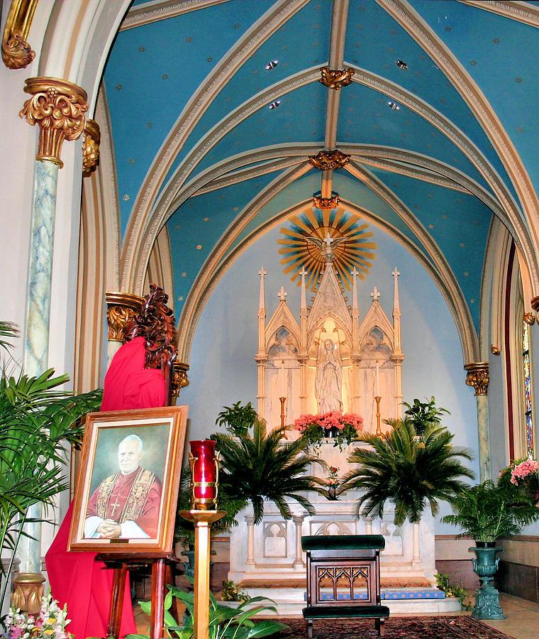 Farewell Photograph - A Farewell To Pope John Paul II by Kristin Elmquist