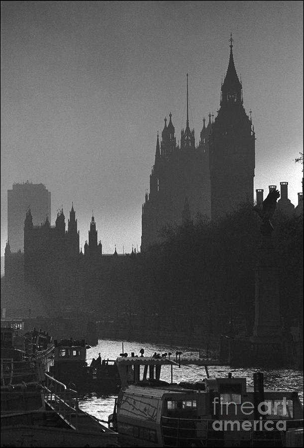 Foggy London Photograph - A Foggy Day In London by Aldo Cervato