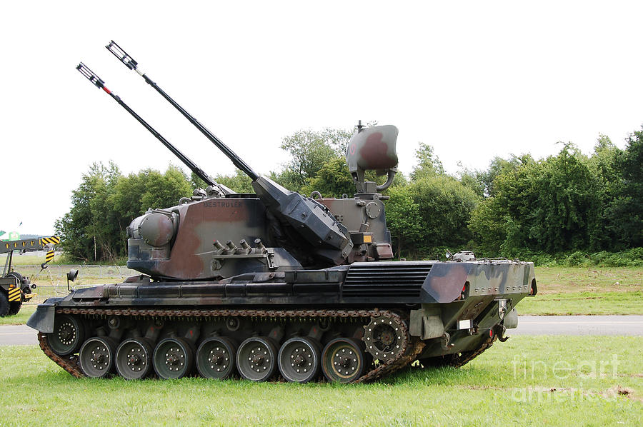 A Gepard Anti Aircraft Tank Photograph By Luc De Jaeger