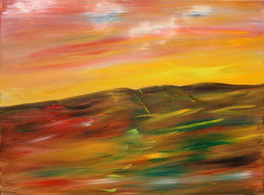 Landscapes Painting - A Glimpse by James Bryron Love