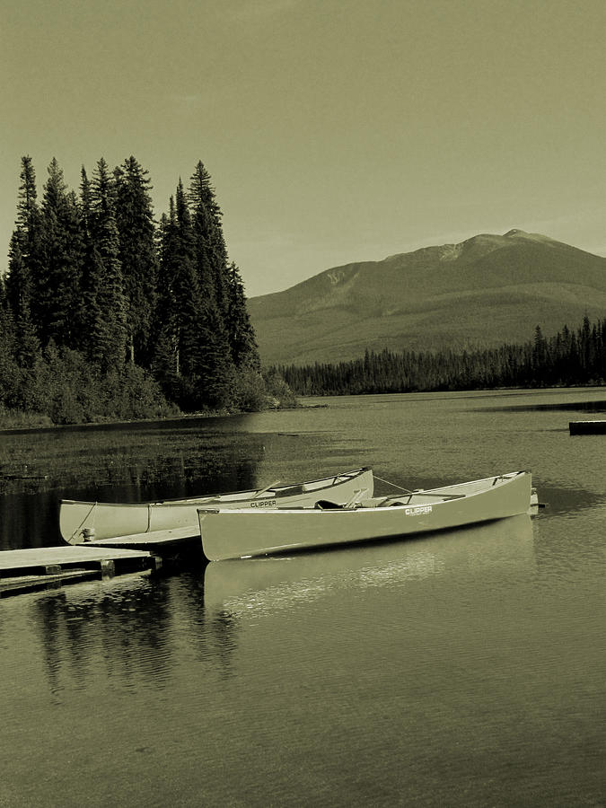 Canoe Photograph - A Good Old Fashioned Holiday by Andrea Arnold