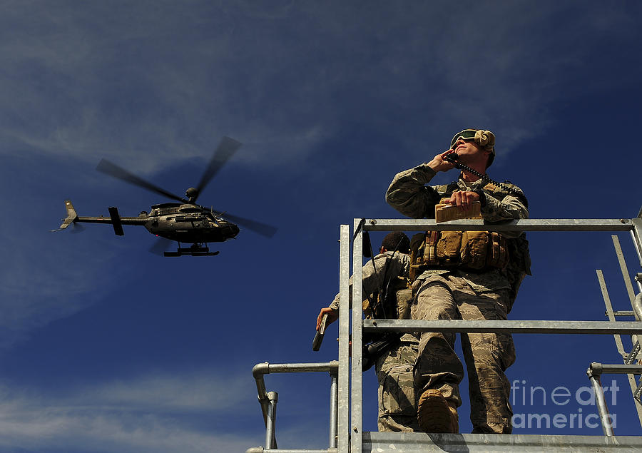 Sky Photograph - A Joint Terminal Attack Controller by Stocktrek Images