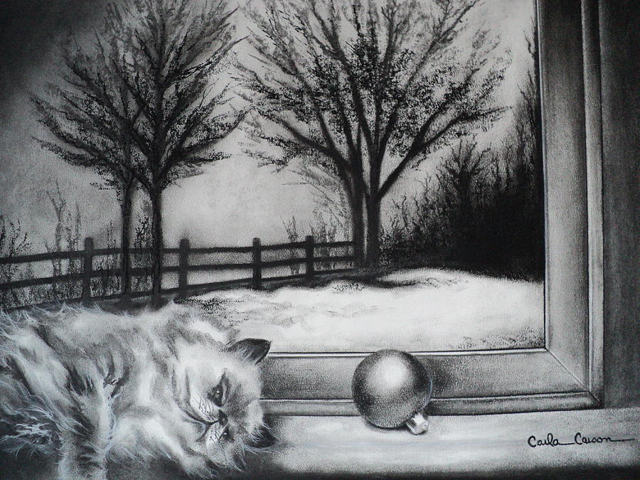 A Lazy Winter Day Draw... Tree Pencil Drawing