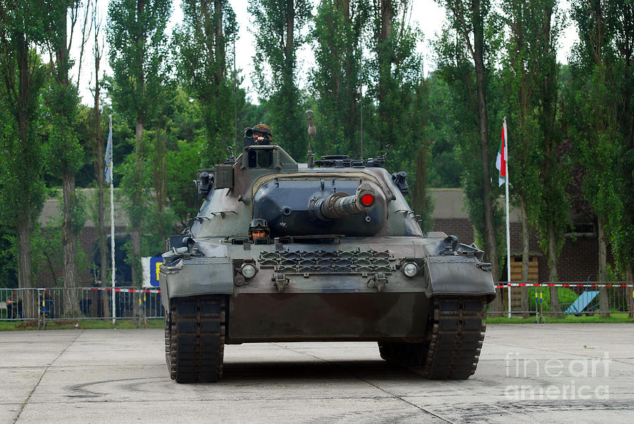 Adults Only Photograph - A Leopard 1a5 Mbt Of The Belgian Army by Luc De Jaeger