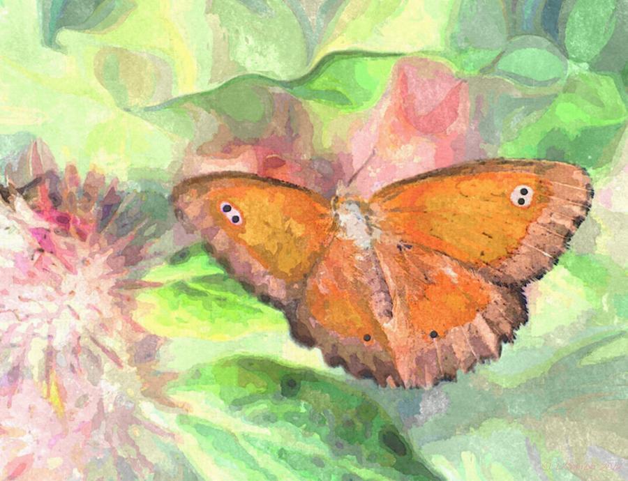 Sunshine Painting - A Little Sunshine by Lynda K Cole-Smith