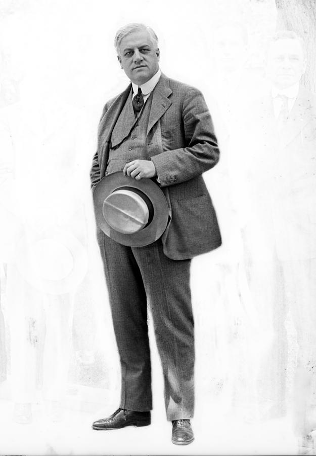 1910s Photograph - A. Mitchell Palmer, Alien Property by Everett