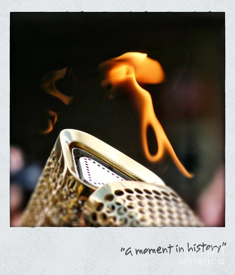 Olympic Photograph - A Moment In History by Trinity  Rose