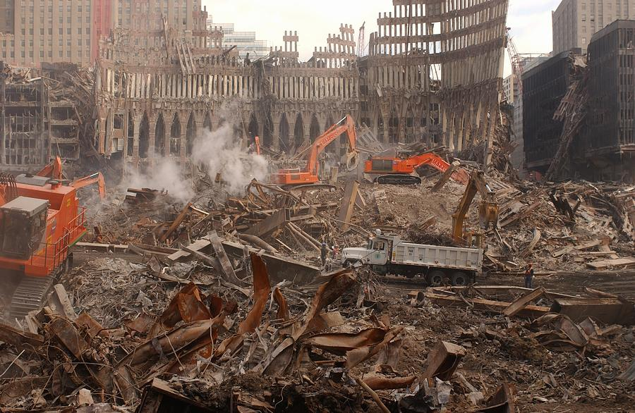 2000s Photograph - A Month After The Terrorist Attacks by Everett