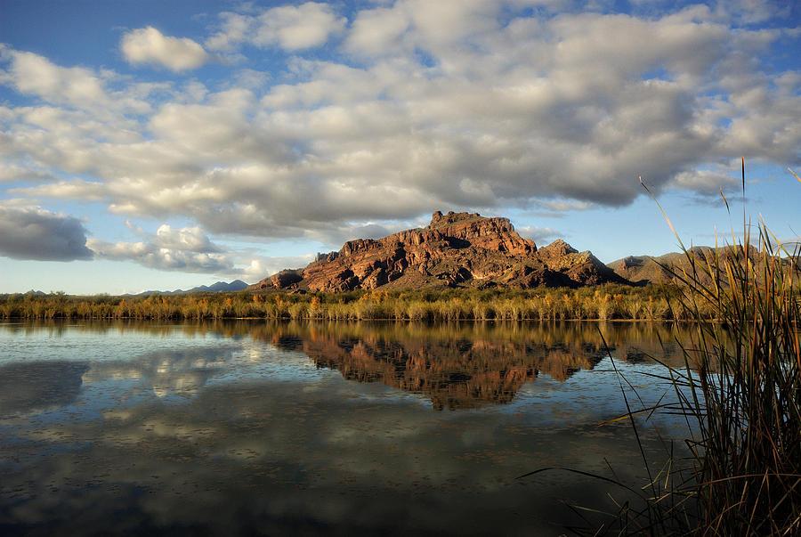 Red Mountain Photograph - A Morning At Red Mountain by Saija  Lehtonen