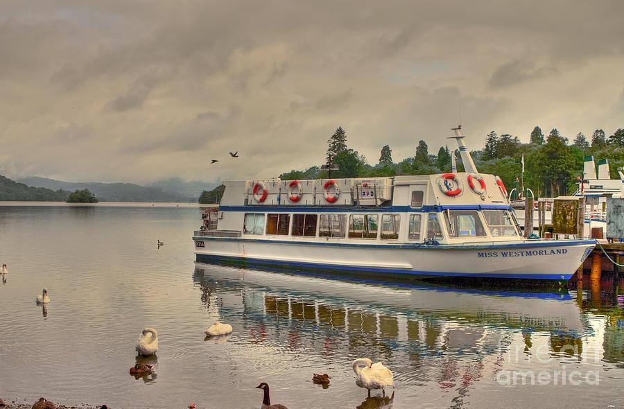 Boat Photograph - A New Dawn by Wobblymol Davis