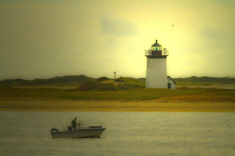 Coastal Photograph - A New England Moment by Karol Livote