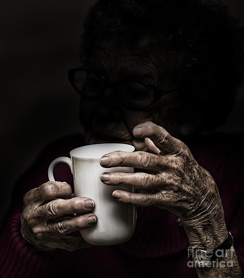 Hands Photograph - A Nice Cup Of Tea by Avalon Fine Art Photography