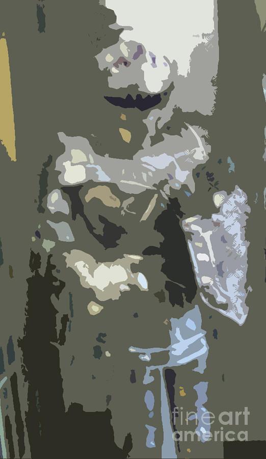 History Digital Art - A Nightly Knight by Karen Francis