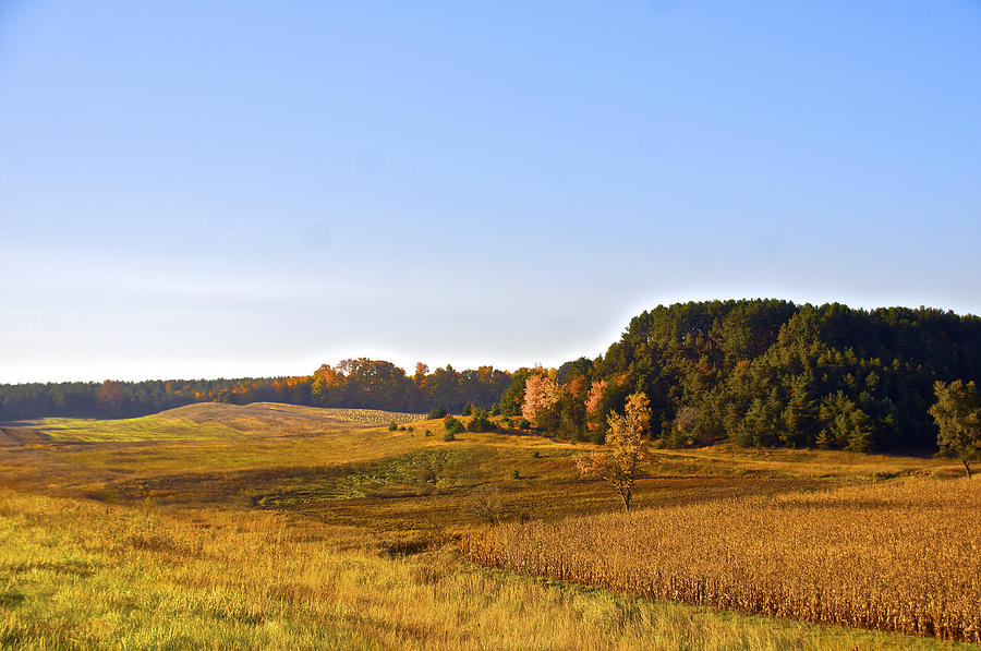Fall Photograph - A Pastoral Scene by Sheryl Thomas