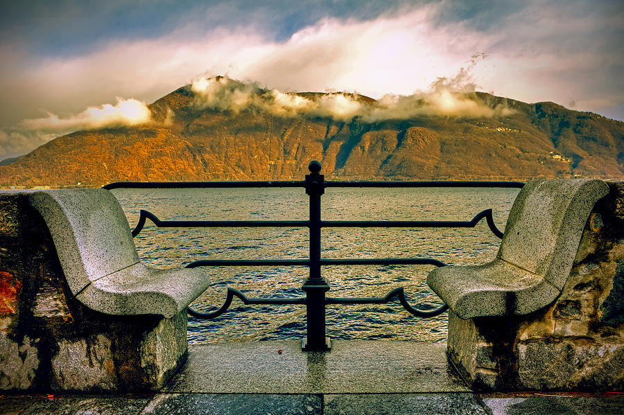 Seat Photograph - A Place For Two by Joana Kruse