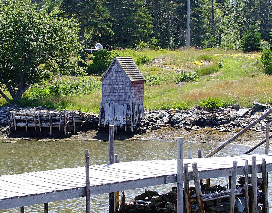 Nova Scotia Photograph - A Private Place by George Cousins