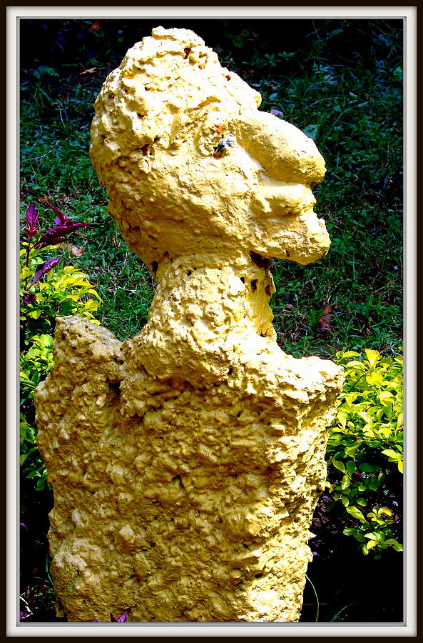 Sculptures Sculpture - A Profile Of A Man by Anand Swaroop Manchiraju
