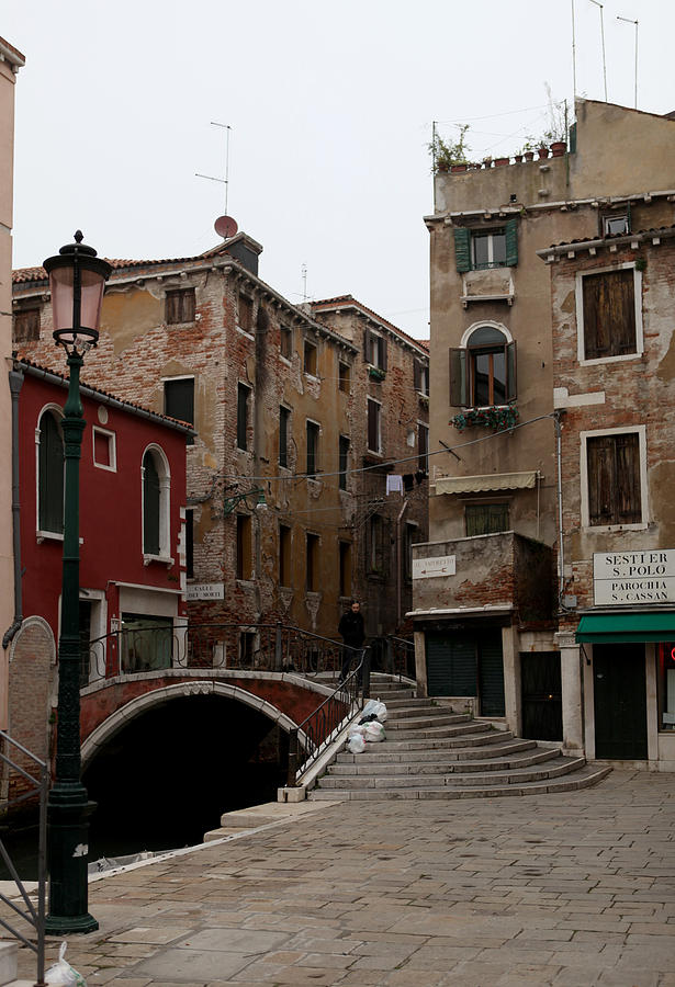 Venice Photograph - A Quiet Street by Kenneth Drylie