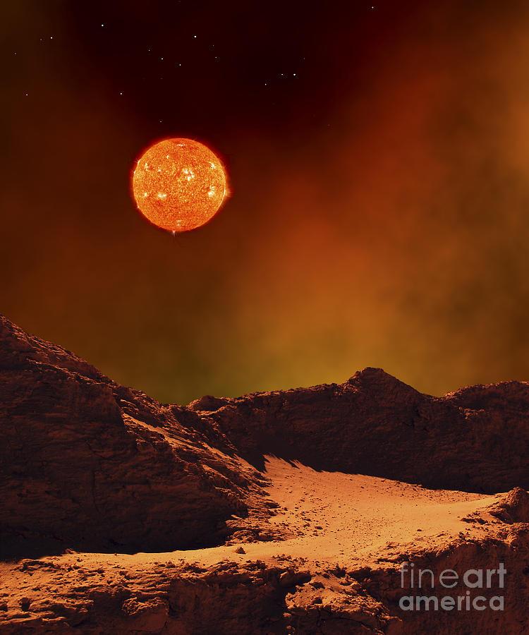 supernova landscape - photo #29