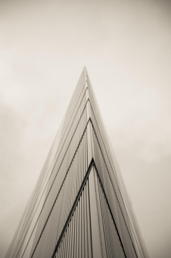2 More London Riverside Photograph - A Sharp Point. by Lenny Carter