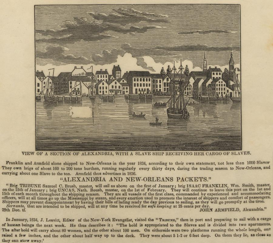 History Photograph - A Ship Of Slaves In 1836 Leaving by Everett