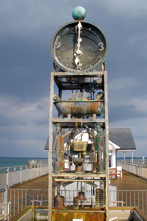 Timekeeping Photograph - A Slightly Rude Water Clock by Rod Jones