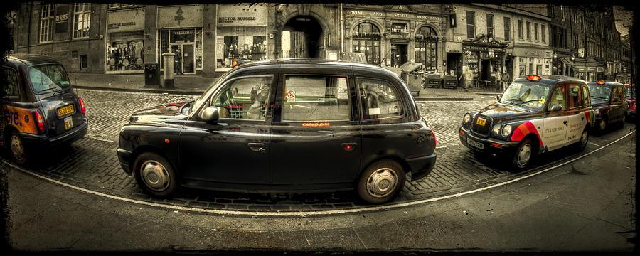 Edinburgh Photograph - A Slow Lane by Evelina Kremsdorf