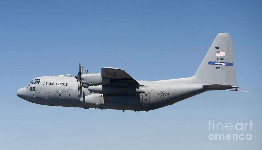 A Specially Modified C 130 Hercules Photograph By