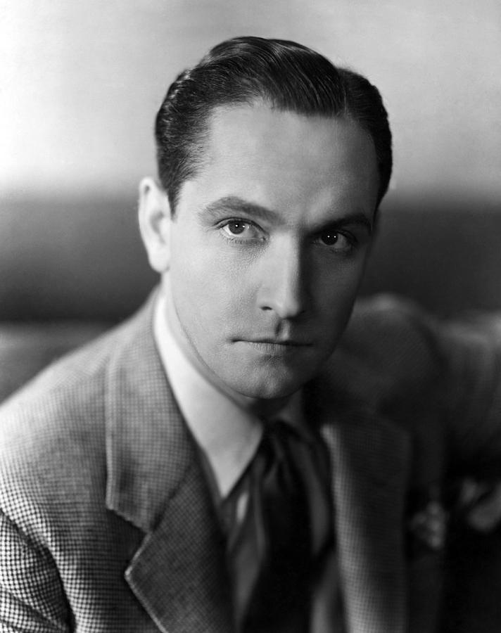 A Star Is Born, Fredric March, 1937 Photograph by Everett