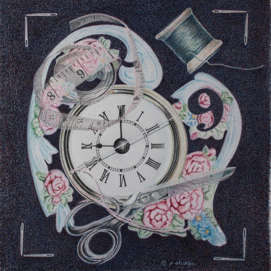 A Stitch In Time Painting by Patsy Sharpe
