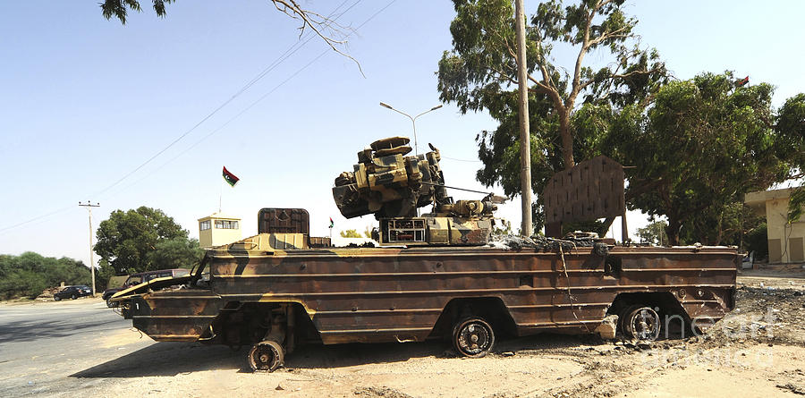 Libya Photograph - A Surface-to-air Missile Air Defense by Andrew Chittock