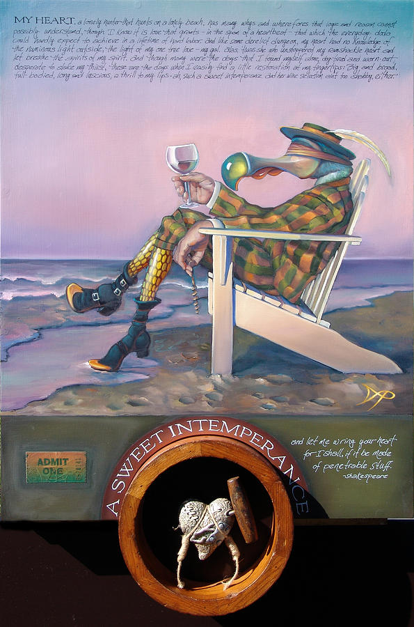 Beach Painting - A Sweet Intemperance by Patrick Anthony Pierson
