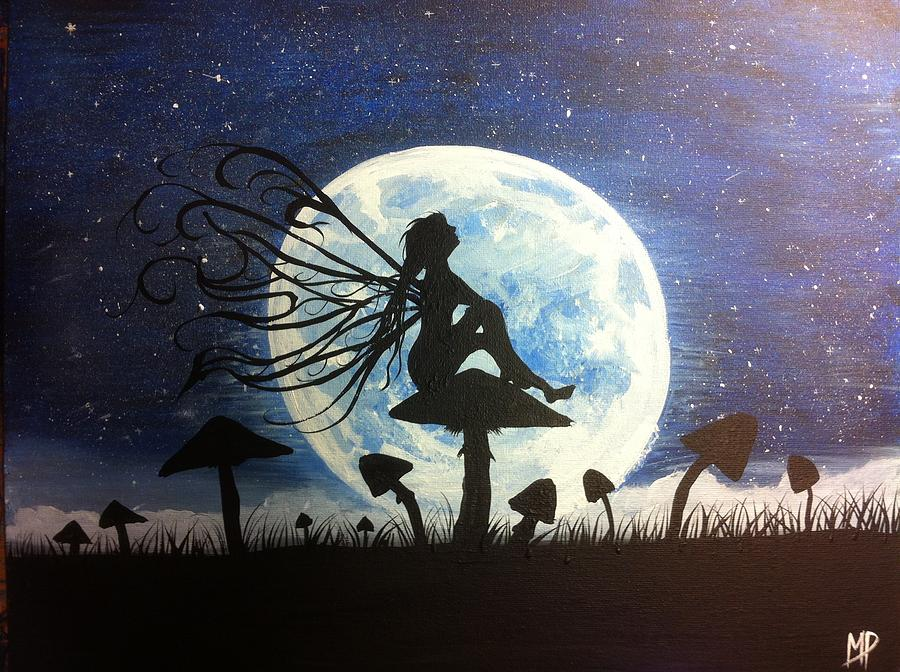 A time to dream painting by michael prosper for Fairy painting easy