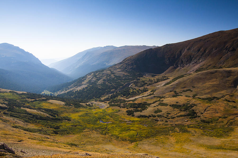 Beautiful Photograph - A Tundra Valley In The Colorado Rockies by Ellie Teramoto
