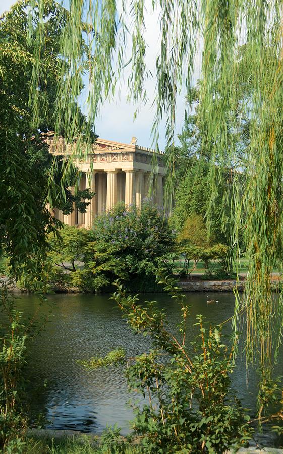 Parthenon Photograph - A View Of The Parthenon 1 by Douglas Barnett