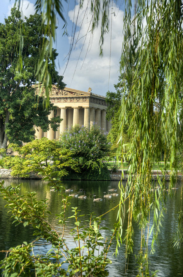 Parthenon Photograph - A View Of The Parthenon 16 by Douglas Barnett